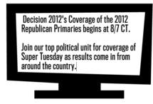 Decision 2012 - Politics on TV