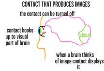Contacts That Produce Images