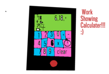 Work Showing Calculater