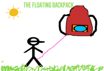 The Floating Backpack