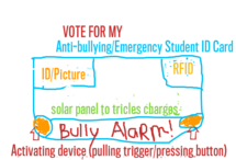 Anti-bullying/Emergency Student ID card