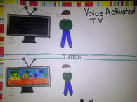 Voice Activated Television
