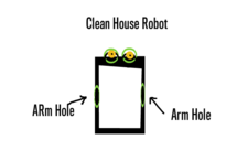 CLEAN HOUSE ROBOT
